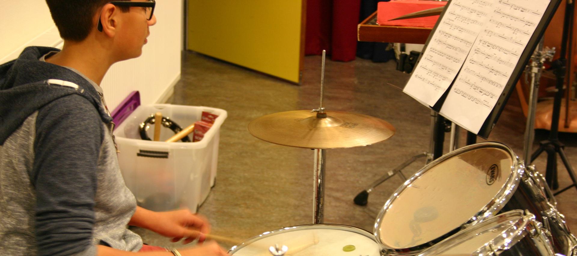 oefenruimte voor muziekbandjes